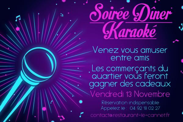 soiree karaoke le Cannet